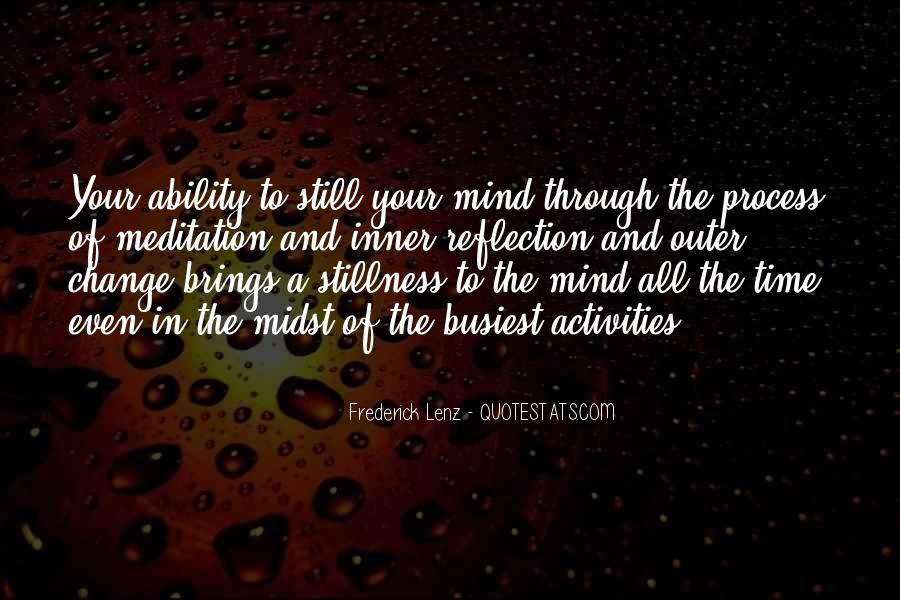 Quotes About Inner Stillness #999994