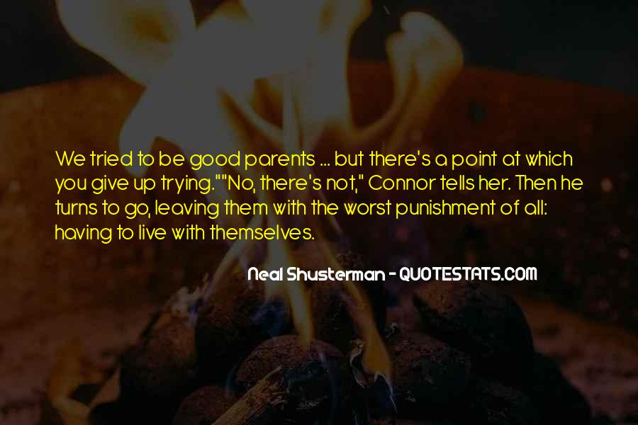 Quotes About Parents Leaving You #359747