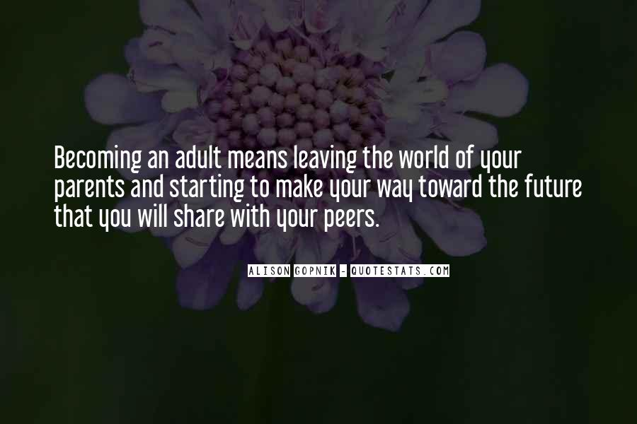 Quotes About Parents Leaving You #501518