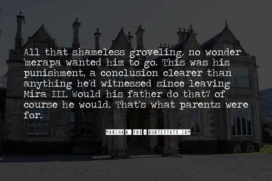 Quotes About Parents Leaving You #934384