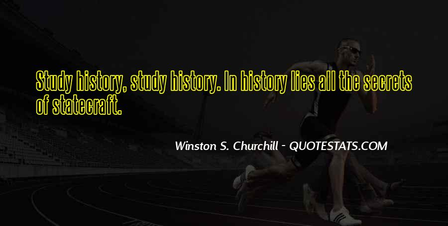 Quotes About Why We Should Study History #119631