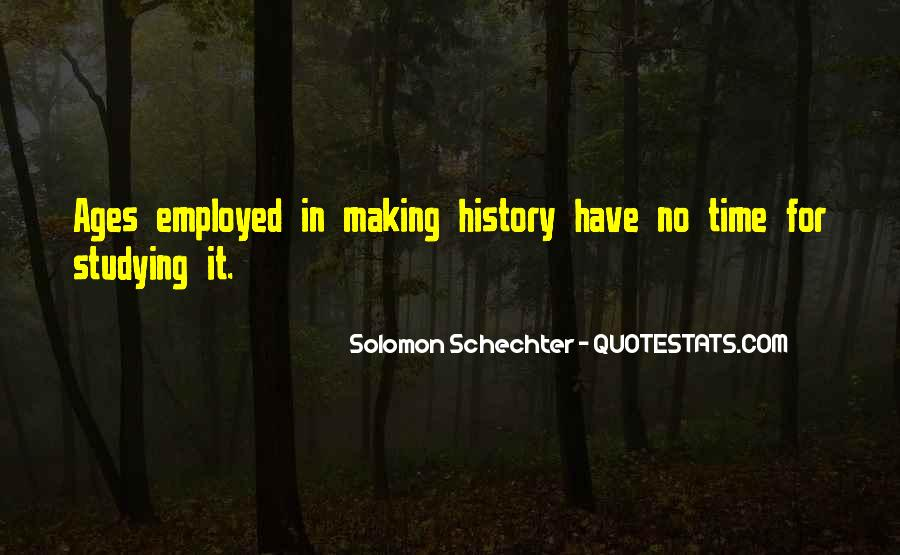 Quotes About Why We Should Study History #131083