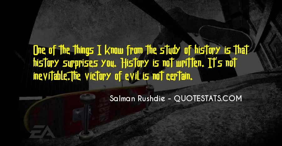 Quotes About Why We Should Study History #247051
