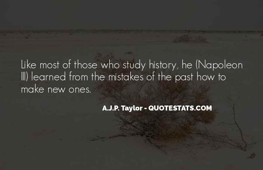 Quotes About Why We Should Study History #52412