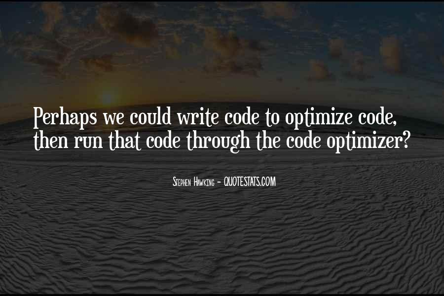 Quotes About Optimize #256319