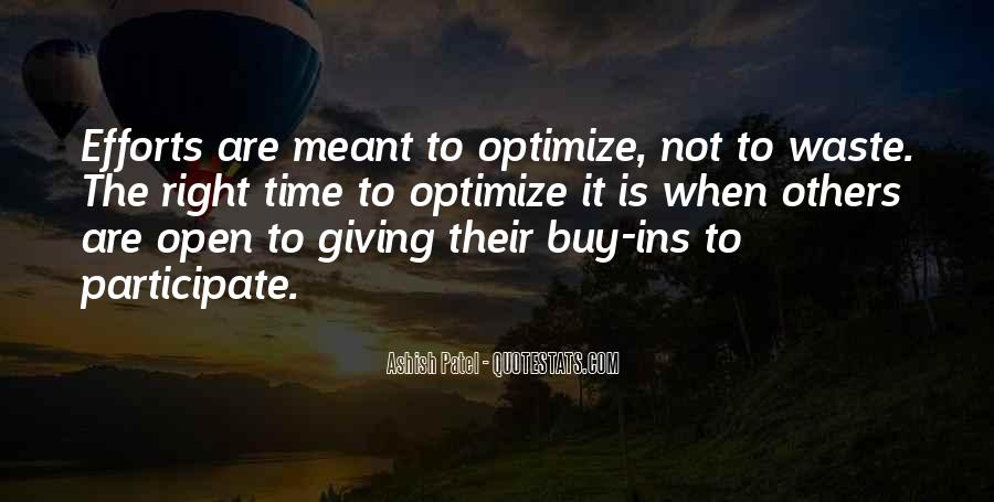 Quotes About Optimize #567715