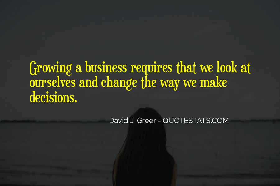 Quotes About Business Growth And Change #295129