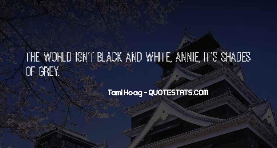 Quotes About Black And Grey #224399