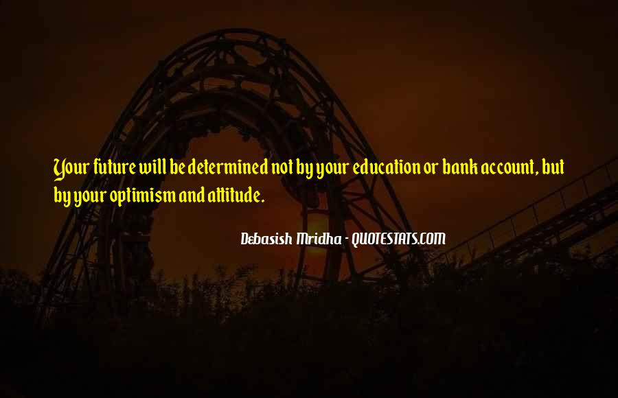 Quotes About Optimism And Love #1265157