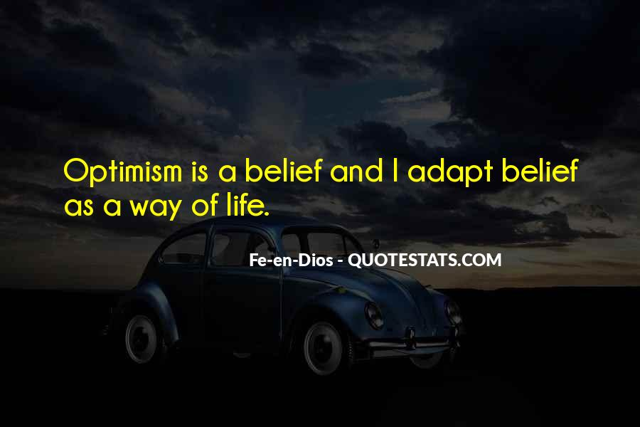 Quotes About Optimism And Love #677467