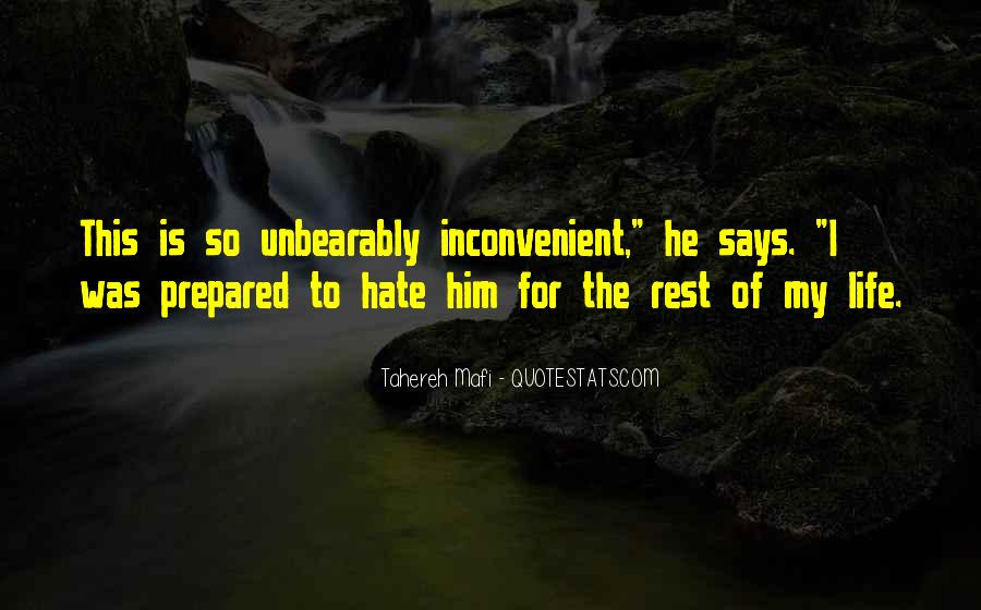 Quotes About Hate This Life #1159685