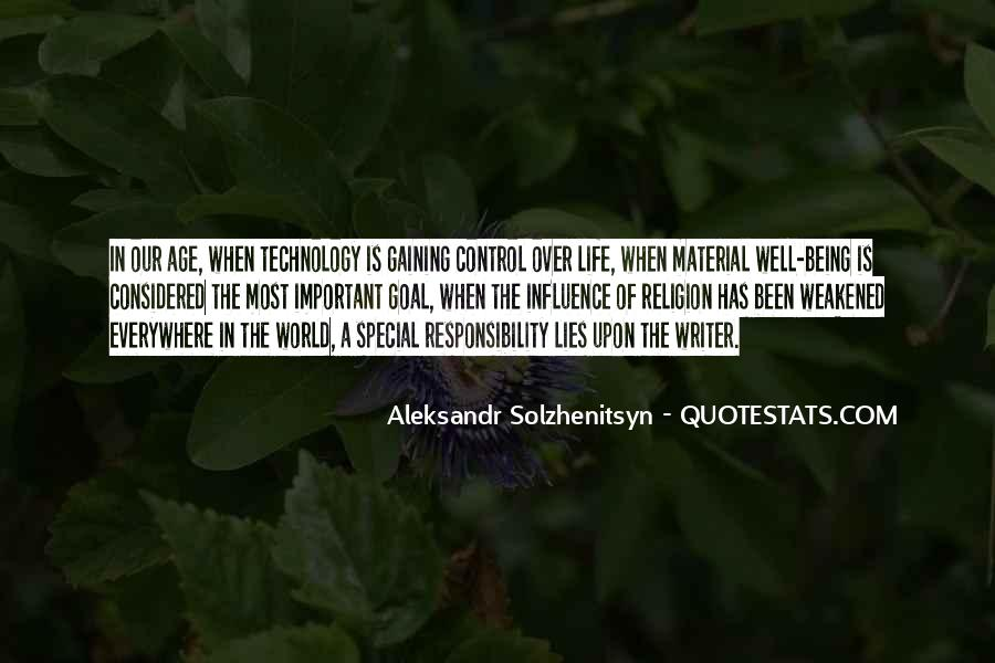 Quotes About Life Being Out Of Our Control #189169