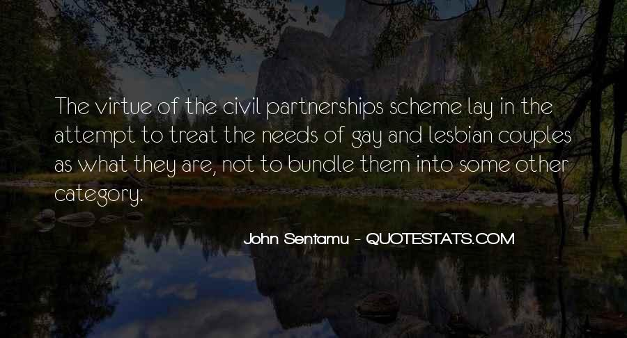 Quotes About Civil Partnerships #201539