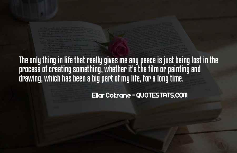 Quotes About Life Painting #106854