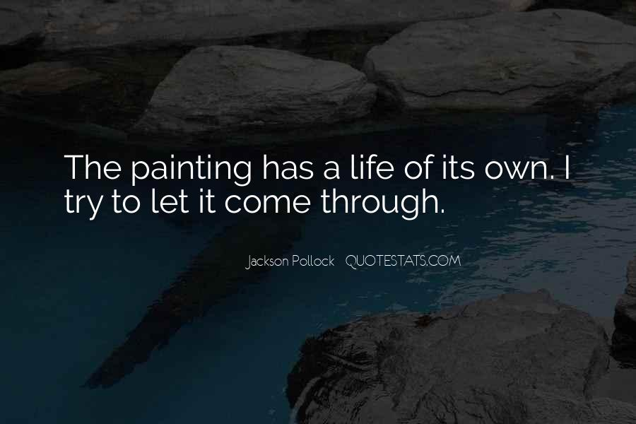Quotes About Life Painting #422290