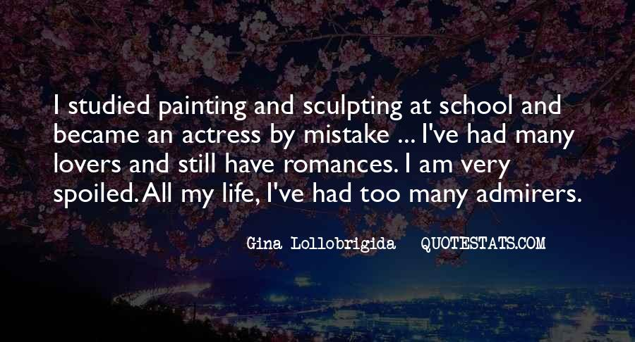 Quotes About Life Painting #473702
