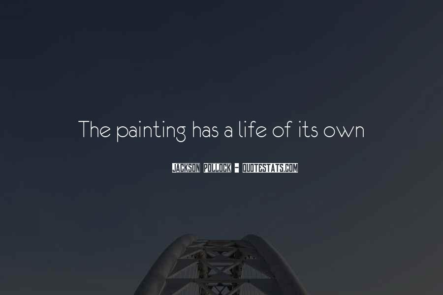 Quotes About Life Painting #516288