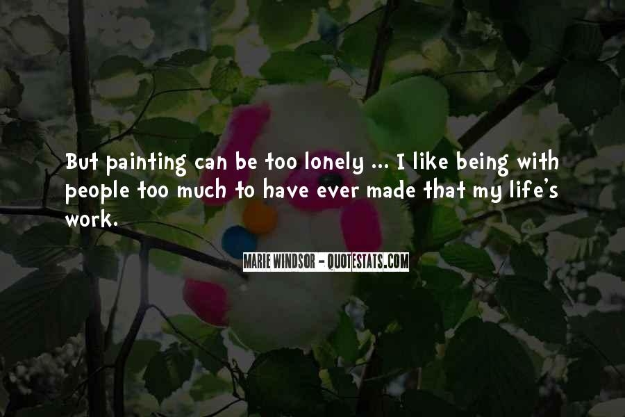 Quotes About Life Painting #651040