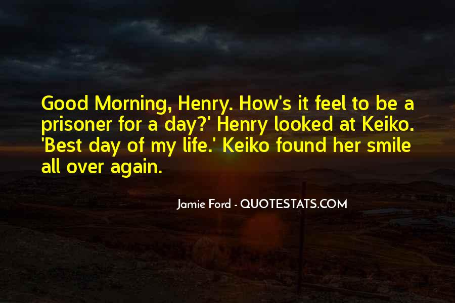 Quotes About Good Morning My Love #421343
