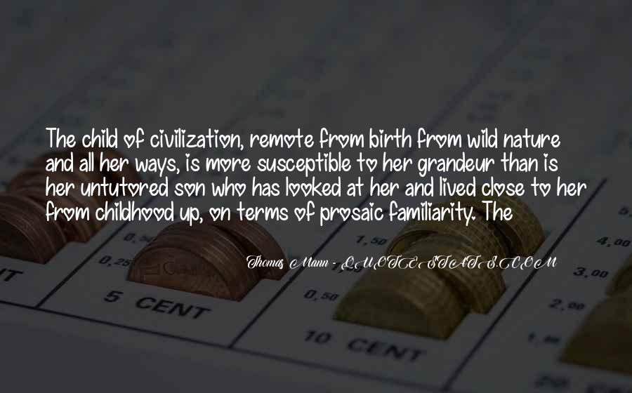 Quotes About Child Birth #218711