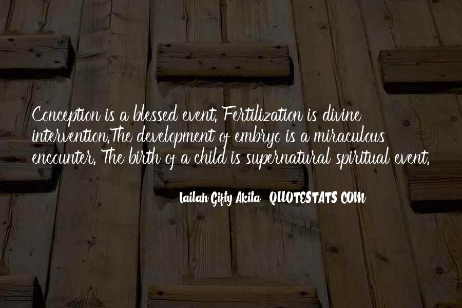 Quotes About Child Birth #326261