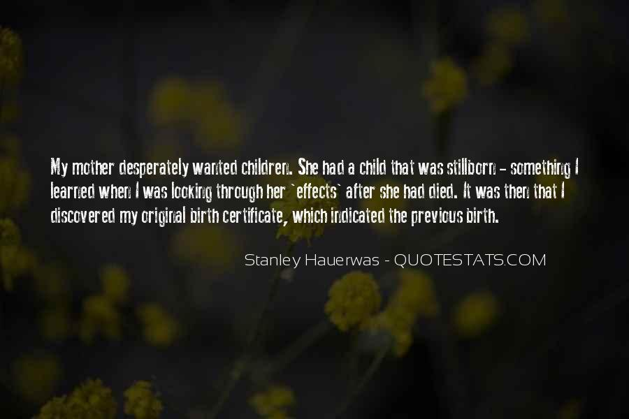 Quotes About Child Birth #519737