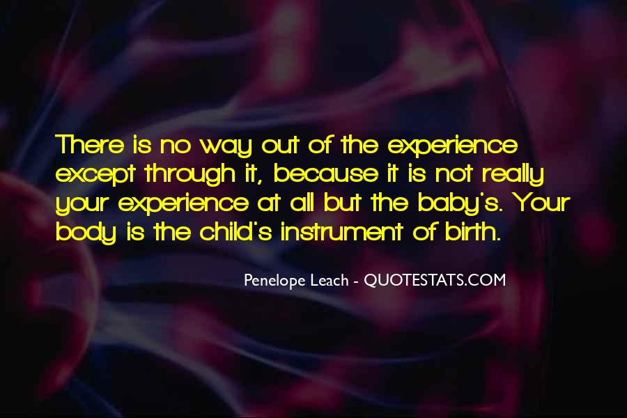 Quotes About Child Birth #553104