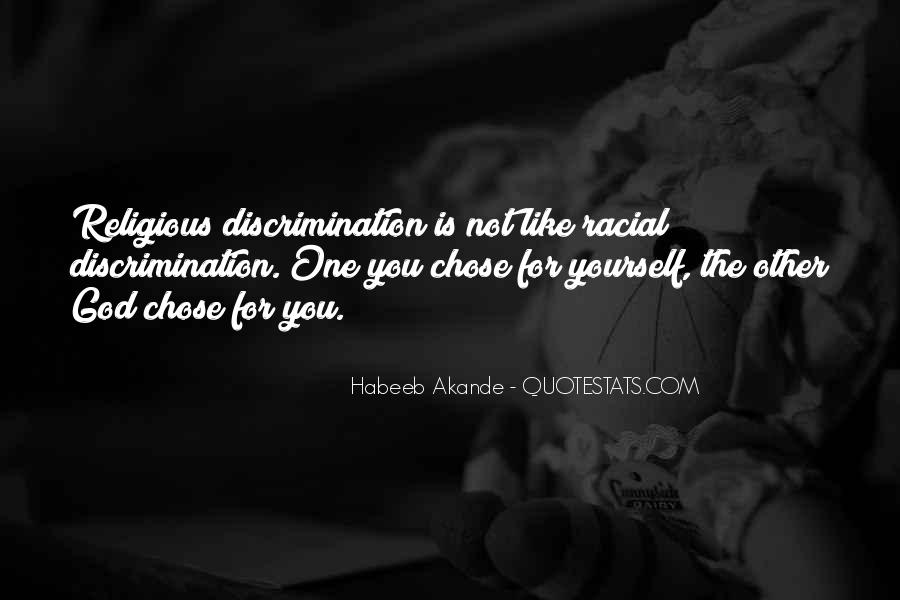 Quotes About Racism And God #967066