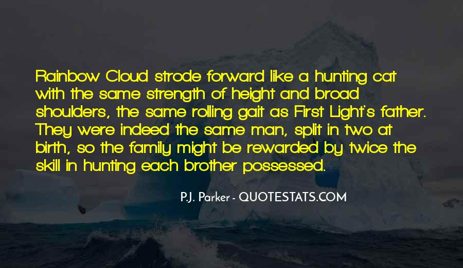 Quotes About A Father's Strength #101627