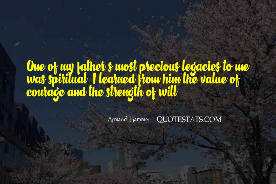 Quotes About A Father's Strength #1120735