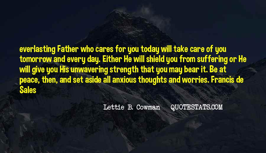 Quotes About A Father's Strength #1133913