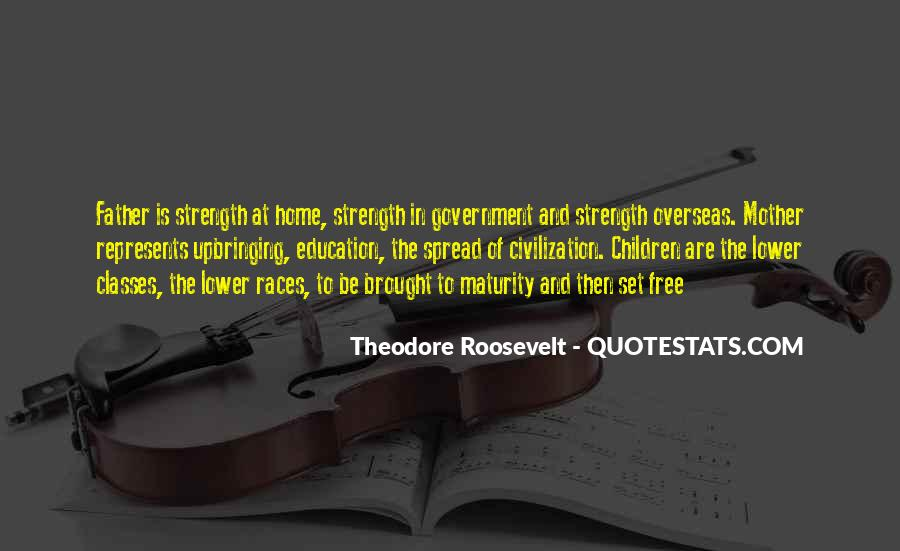 Quotes About A Father's Strength #127979