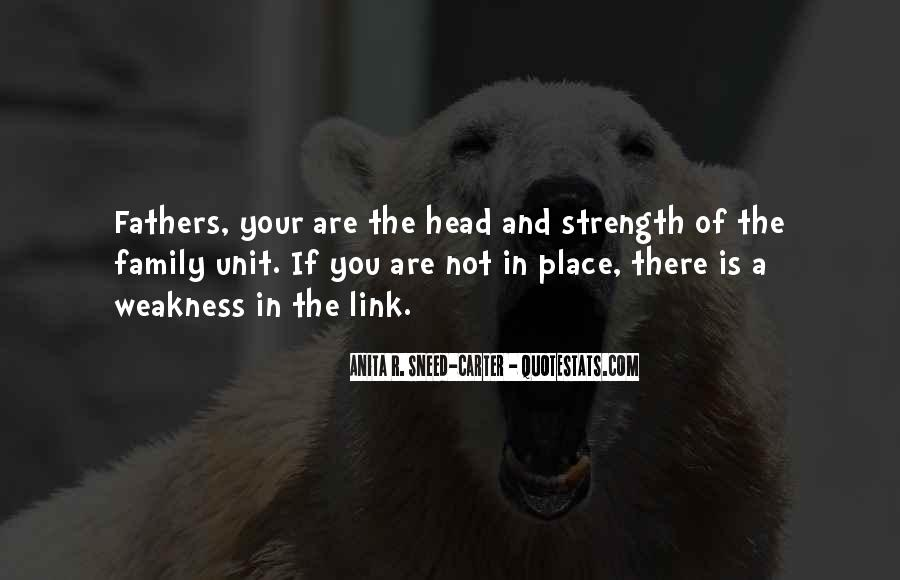 Quotes About A Father's Strength #33218