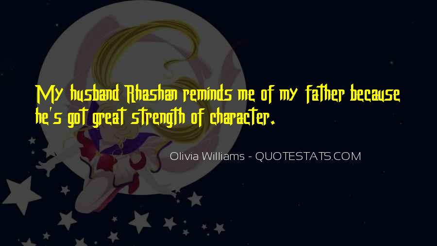 Quotes About A Father's Strength #332327