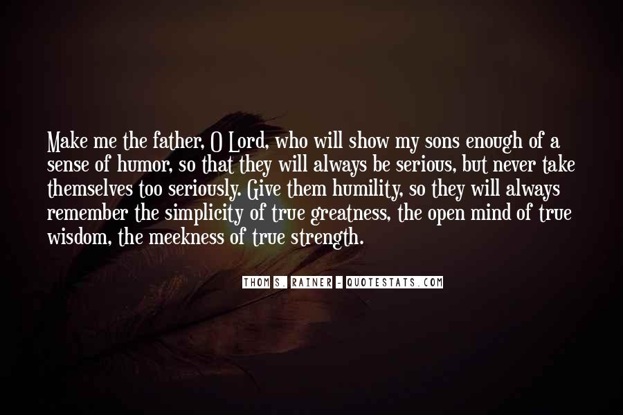 Quotes About A Father's Strength #591052
