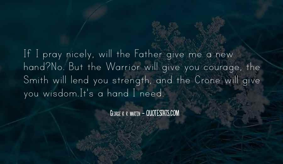 Quotes About A Father's Strength #767056