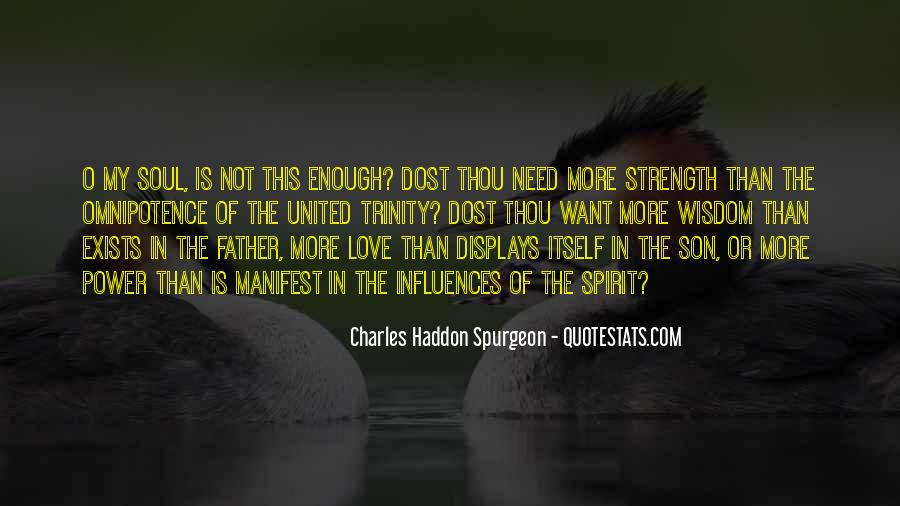 Quotes About A Father's Strength #800119