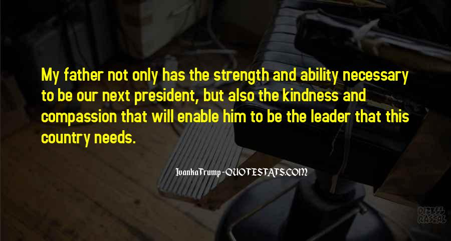 Quotes About A Father's Strength #941315