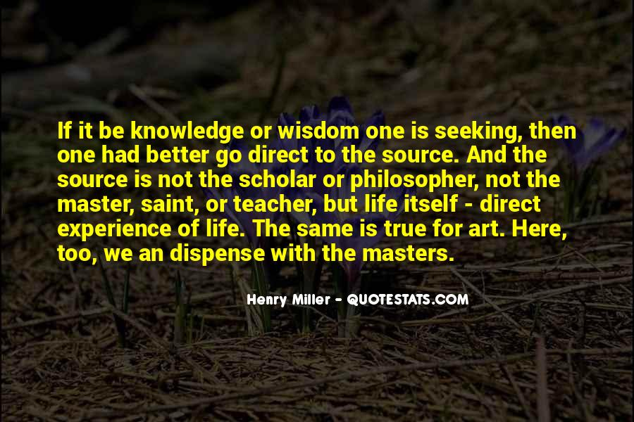 Quotes About Seeking Wisdom #1170307