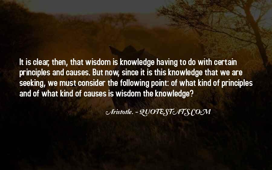 Quotes About Seeking Wisdom #1181790
