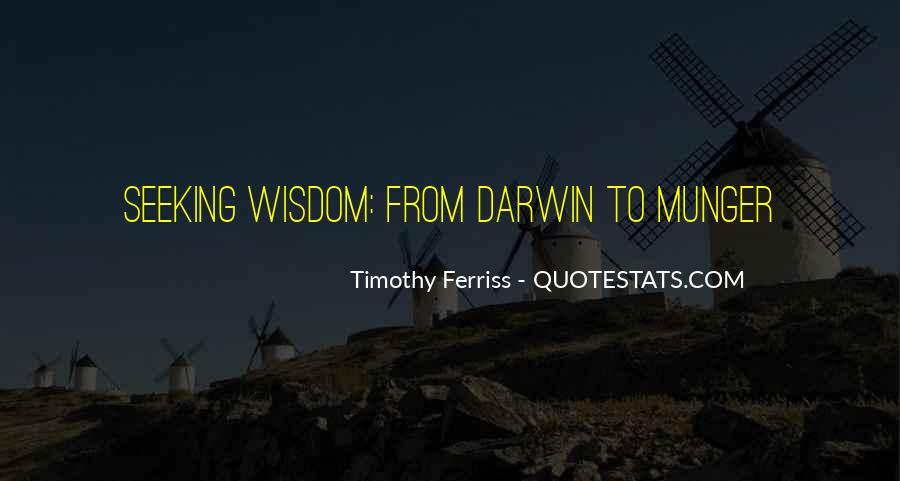 Quotes About Seeking Wisdom #438487