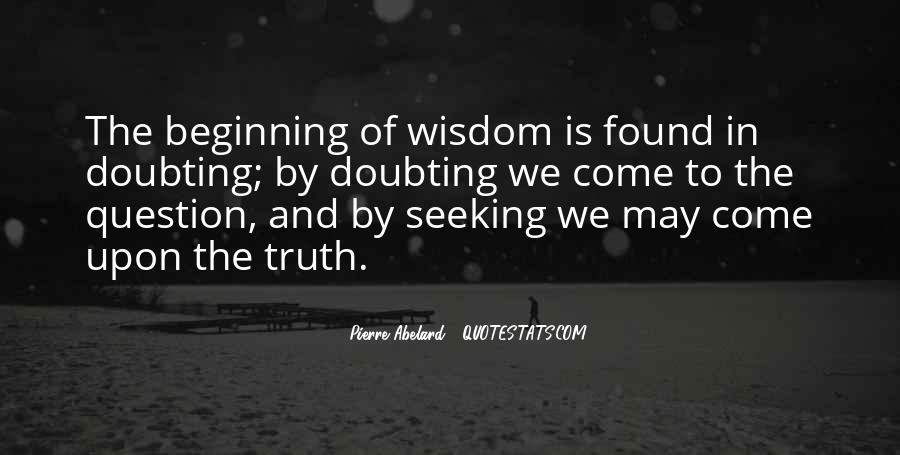 Quotes About Seeking Wisdom #483248