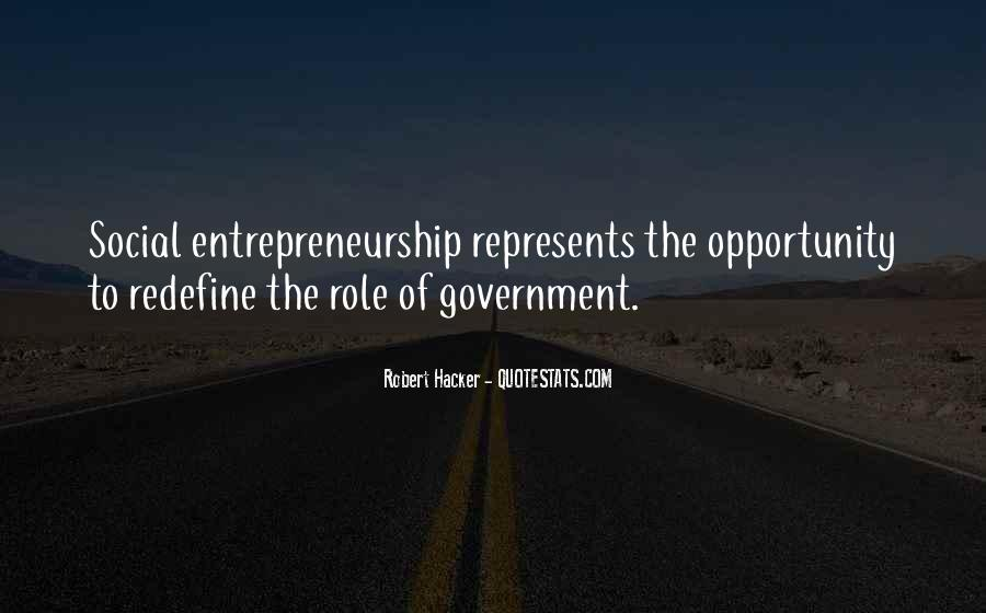 Quotes About Social Entrepreneurship #1185504