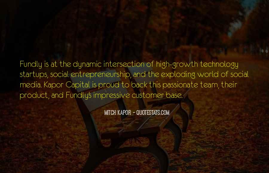 Quotes About Social Entrepreneurship #1501067
