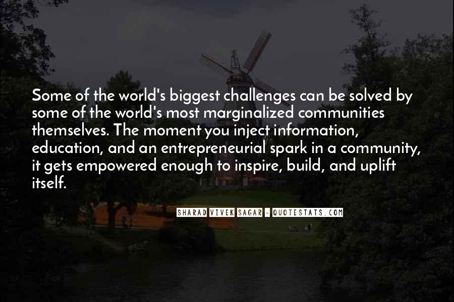Quotes About Social Entrepreneurship #819174