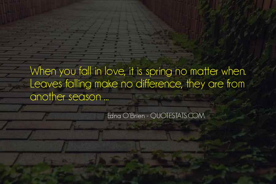 Quotes About Love And Fall Season #1836447