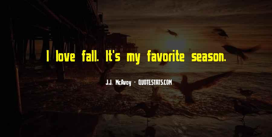 Quotes About Love And Fall Season #193301