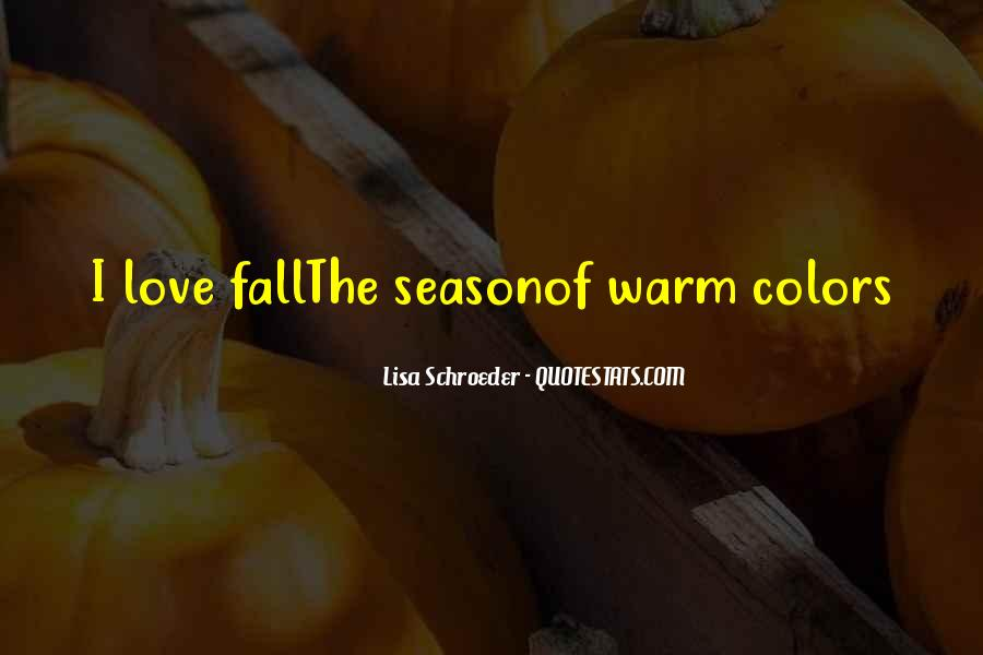 Quotes About Love And Fall Season #323873