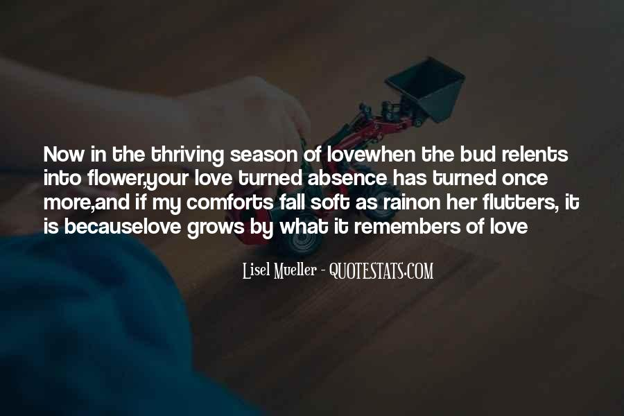 Quotes About Love And Fall Season #721514
