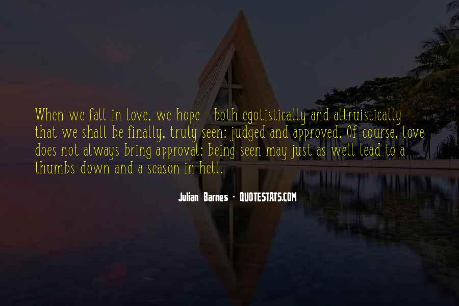 Quotes About Love And Fall Season #976543